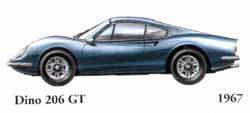 Ferrari Dino 206 GT 1967
