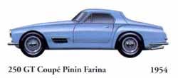 Ferrari 250 GT Coupe Pinin Farina 1954