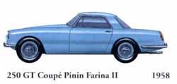 Ferrari 250 GT Coupe Pinin Farina II 1958