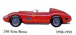 Ferrari 250 Testa Rossa 1958 - 1959
