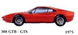 Ferrari 308 GTB / 308 GTS 1975