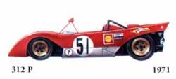 Ferrari 312 P 1971