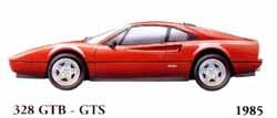 Ferrari 328 GTB / 328 GTS 1985