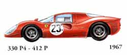 Ferrari 330 P4 / 412 P 1967