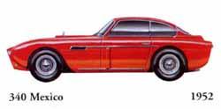 Ferrari 340 Mexico 1952