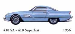 Ferrari 410 SA - 410 Superfast 1956