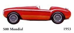 Ferrari 500 Mondial 1953