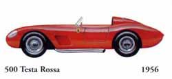 Ferrari 500 Testa Rossa 1956