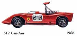 Ferrari 612 Can-Am 1968