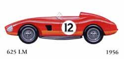 Ferrari 625 LM 1956