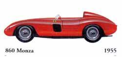 Ferrari 860 Monza 1955