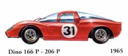 Ferrari Dino 166 P / 206 P 1965