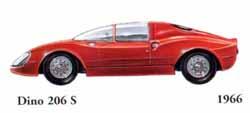 Ferrari Dino 206 S 1965