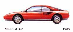 Ferrari Mondial 3.2 1985